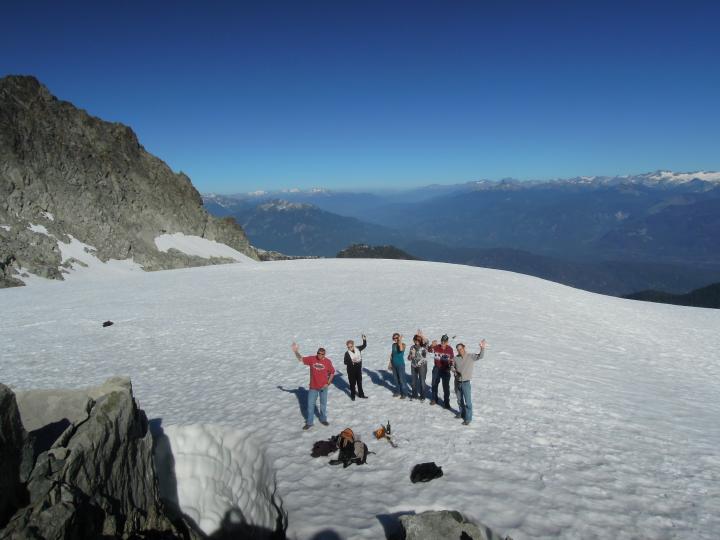 Our wedding on glacier 0016